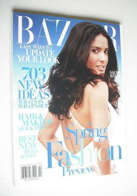 <!--2006-02-->Harper's Bazaar magazine - February 2006 - Salma Hayek cover