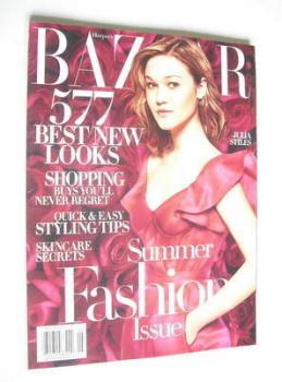 Harper's Bazaar magazine - May 2005 - Julia Stiles cover