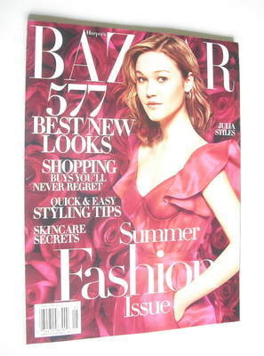 <!--2005-05-->Harper's Bazaar magazine - May 2005 - Julia Stiles cover