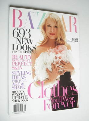 <!--2005-06-->Harper's Bazaar magazine - June 2005 - Renee Zellweger cover