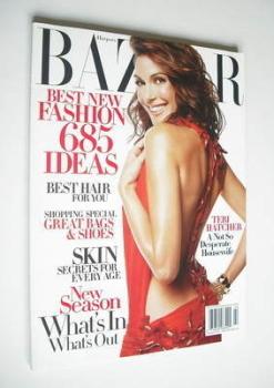 Harper's Bazaar magazine - February 2005 - Teri Hatcher cover