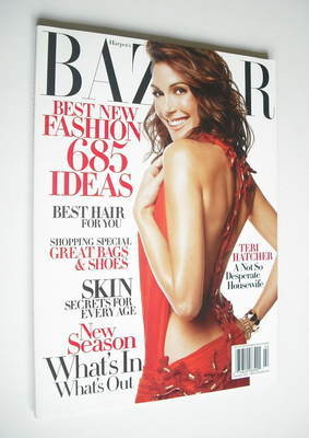 <!--2005-02-->Harper's Bazaar magazine - February 2005 - Teri Hatcher cover