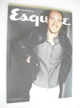 Esquire magazine - Michael Fassbender cover (June 2012 - Subscriber's Issue)