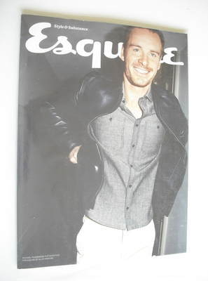 <!--2012-06-->Esquire magazine - Michael Fassbender cover (June 2012 - Subs