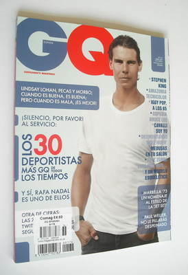 <!--2012-04-->Spanish GQ magazine - April 2012 - Rafael Nadal cover