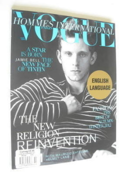 <!--2011-09-->Paris Vogue Hommes International magazine - Autumn/Winter 2011-2012 - Jamie Bell cover