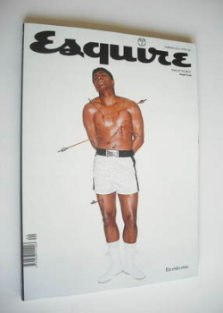 Esquire magazine - Muhammad Ali cover (February 2012 - Spanish Edition)