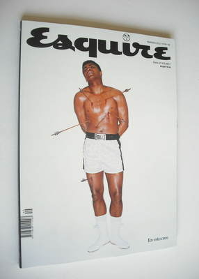 <!--2012-02-->Spanish Esquire magazine - Muhammad Ali cover (February 2012)