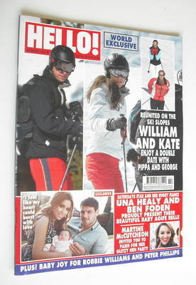 <!--2012-04-09-->Hello! magazine - Prince William and Kate Middleton cover