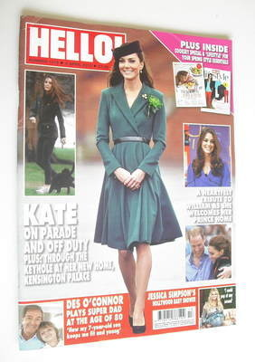<!--2012-04-02-->Hello! magazine - Kate Middleton cover (2 April 2012 - Iss