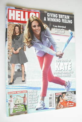 <!--2012-03-26-->Hello! magazine - Kate Middleton cover (26 March 2012 - Is
