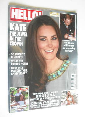 <!--2012-05-07-->Hello! magazine - Kate Middleton cover (7 May 2012 - Issue