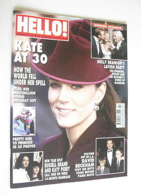 <!--2012-01-16-->Hello! magazine - Kate Middleton cover (16 January 2012 -
