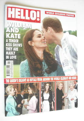 <!--2012-05-28-->Hello! magazine - Prince William and Kate Middleton cover