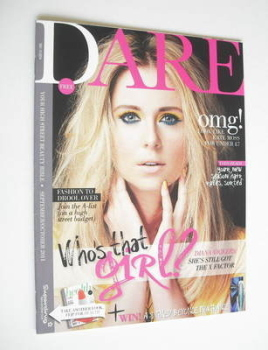 Dare magazine - Diana Vickers cover (September/October 2011)