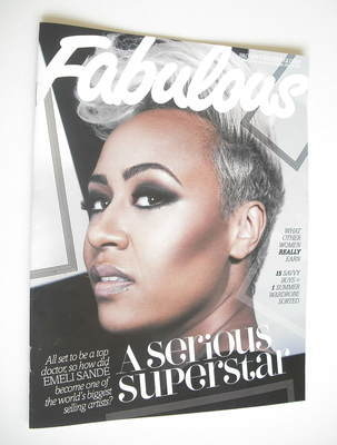 <!--2012-05-27-->Fabulous magazine - Emeli Sande cover (27 May 2012)