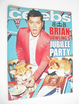 <!--2012-06-03-->Celebs magazine - Brian Dowling cover (3 June 2012)