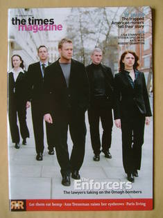 <!--2003-01-25-->The Times magazine - The Enforcers cover (25 January 2003)