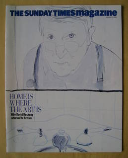 <!--2003-01-05-->The Sunday Times magazine - Home Is Where The Art Is cover