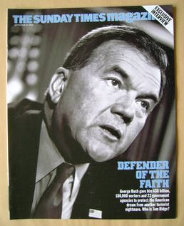 <!--2003-09-14-->The Sunday Times magazine - Tom Ridge cover (14 September