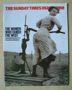 <!--2002-01-20-->The Sunday Times magazine - The Women Who Tamed The West c