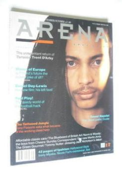 Arena magazine - Summer/Autumn 1989 - Terence Trent D'Arby cover