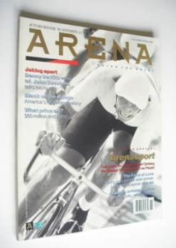 Arena magazine - Autumn/Winter 1989 - Arena Sport cover