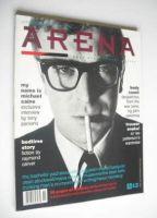 <!--1988-09-->Arena magazine - Autumn/Winter 1988 - Michael Caine cover