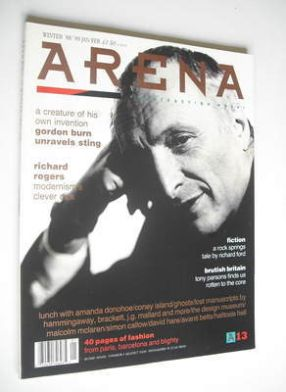 <!--1988-12-->Arena magazine - Winter 1988/1989 - Richard Rogers cover