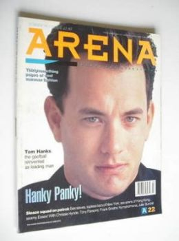 Arena magazine - Summer 1990 - Tom Hanks cover