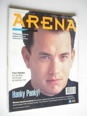 <!--1990-08-->Arena magazine - Summer 1990 - Tom Hanks cover