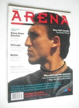 Arena magazine - Summer 1989 - Gary Jacobs cover