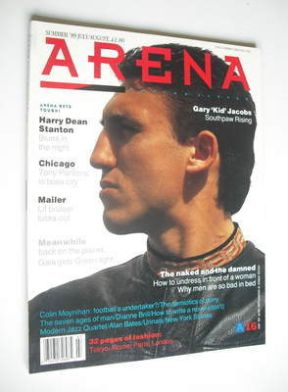 <!--1989-08-->Arena magazine - Summer 1989 - Gary Jacobs cover