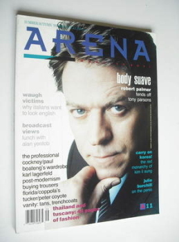 Arena magazine - Summer/Autumn 1988 - Robert Palmer cover