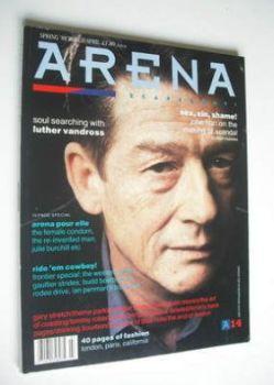 <!--1989-04-->Arena magazine - Spring 1989 - John Hurt cover