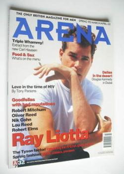 Arena magazine - Spring 1992 - Ray Liotta cover