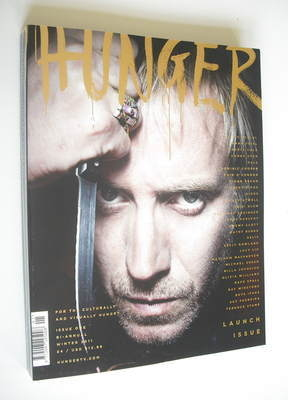 Hunger magazine - Rhys Ifans cover (Issue 1)