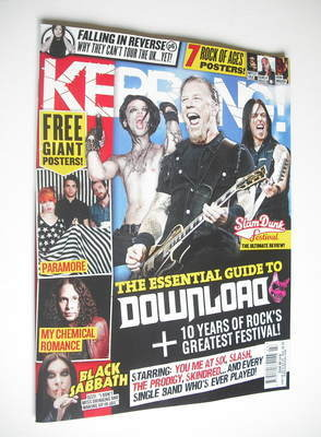 <!--2012-06-09-->Kerrang magazine - The Essential Guide To Download cover (