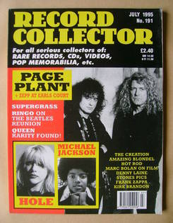Record Collector - July 1995 - Issue 191
