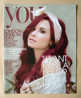 <!--2012-02-19-->You magazine - Demi Lovato cover (19 February 2012)