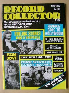 Record Collector - November 1988 - Issue 111