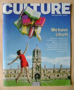Culture magazine - We Have Liftoff cover (11 March 2012)