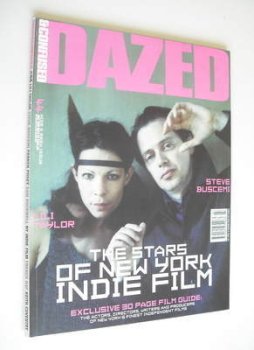 Dazed & Confused magazine (July 1998 - Steve Buscemi and Lili Taylor cover)