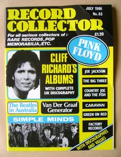 Record Collector - July 1986 - Issue 83