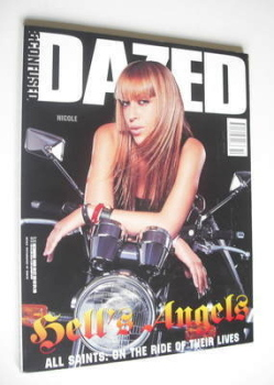 Dazed & Confused magazine (October 1999 - Nicole Appleton cover)
