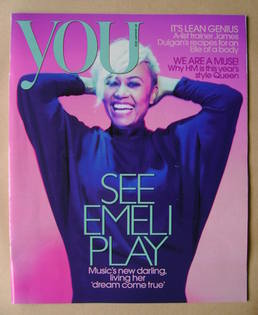 <!--2012-01-29-->You magazine - Emeli Sande cover (29 January 2012)