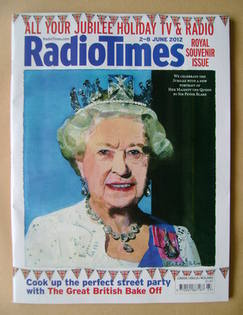 <!--2012-06-02-->Radio Times magazine - The Queen cover (2-8 June 2012)