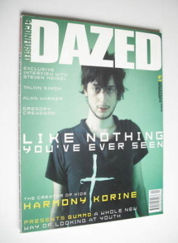 Dazed & Confused magazine (April 1998 - Harmony Korine cover)
