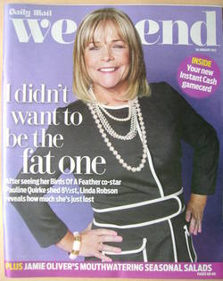 Weekend magazine - Linda Robson cover (28 January 2012)