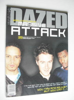 Dazed & Confused magazine (February 1998 - Massive Attack cover)